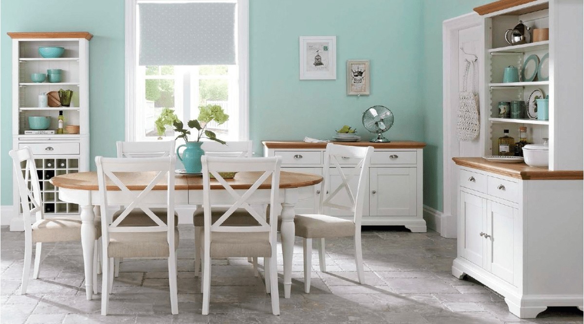 Hamstead Two Tone Dining Suite